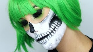 gaga skull makeup tutorial