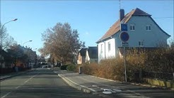 examen du permis de conduire strasbourg commentée vers Haguenau sortie bischheim
