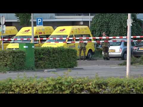 De Explosieven Opruimingsdienst doet onderzoek naar verdachte tas Zwijndrecht