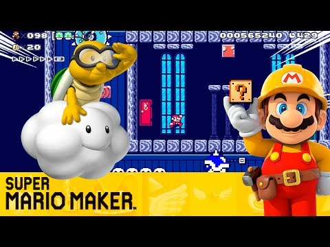 "SUPER MARIO MAKER - ""SIN ESCAPE PARA MARIO"" DESAFIÓ 100 MARIOS MODO NORMAL [2/2]"