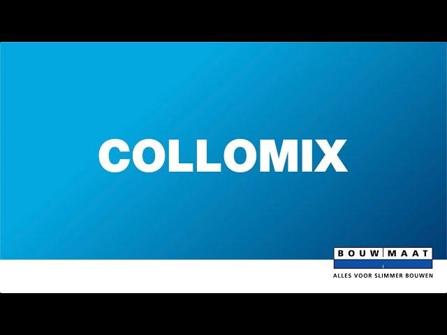 Welke mengstaaf van Collomix gebruik je?