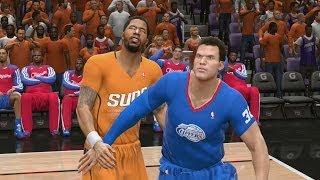 NBA Live 14 (PS4) Clippers vs Suns - 4th Quarter