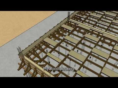 "SketchUp Animation - ""Casting of 1st Floor Beam & Slab"""