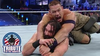 John Cena, CM Punk & Daniel Bryan vs. The Wyatt Family: Tribute to the Troops 2013