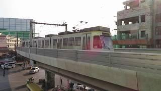 マニラLRT1号線1000形 バクララン~エドサ Manila LRT Line 1 Class 1000