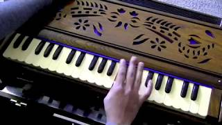 How to play - Twameva Mata on Harmonium/Keyboard (with notes)