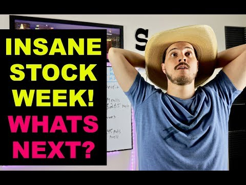 The Insane Week It Was On Wall Street! What's Next for stocks?