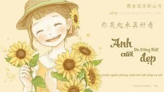[Vietsub + Pinyin] Anh cười lên trông thật đẹp - Lý Hân Dung - 你笑起来真好看 - 李昕融/樊桐舟/李凯稠 (抖音) (Tiktok)