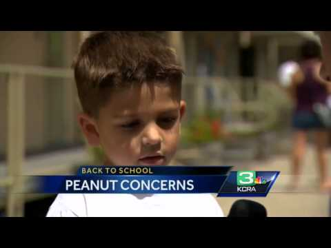 As students return to school, parents worry of peanut allergy