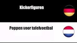 Deutsch + Niederländisch = Tafelspelen en uitrusting daarvoor