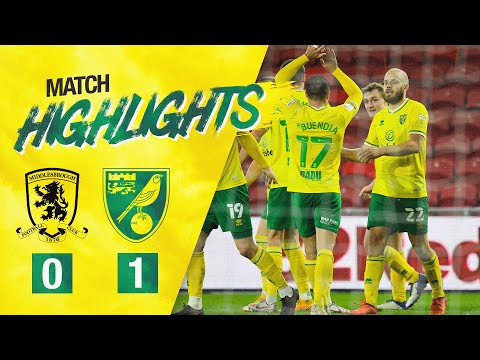 Middlesbrough Norwich Goals And Highlights