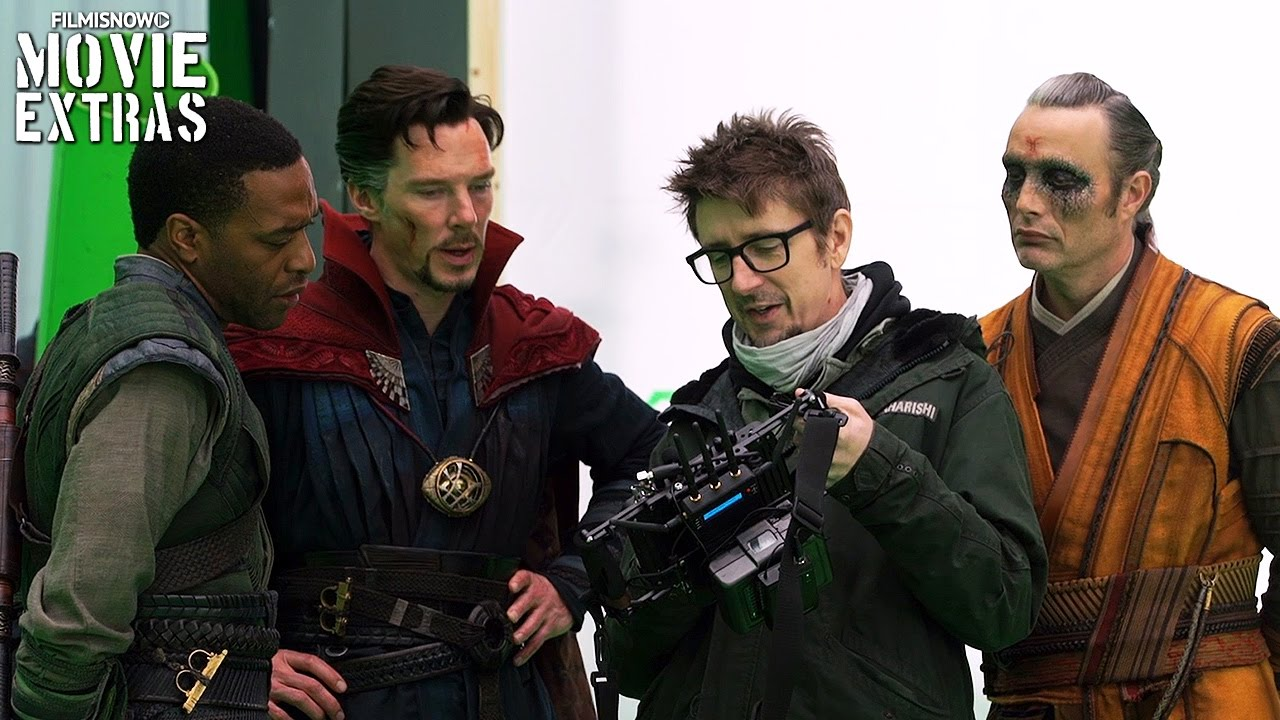 Go Behind The Scenes Of Doctor Strange 2016 Youtube