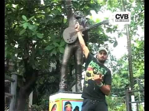 INDIAN CRICKETERS VISIT BOB MARLEY MUSEUM IN KINGSTON