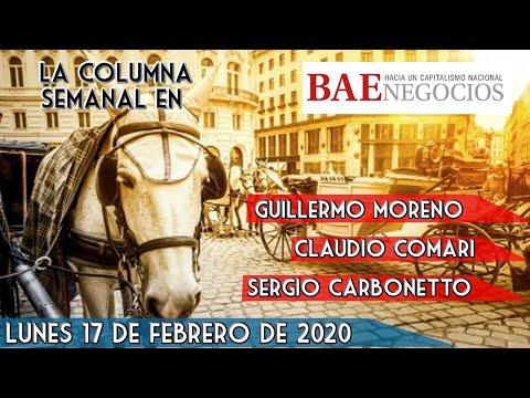 Guillermo Moreno: La Columna En BAE Negocios 17/02/20