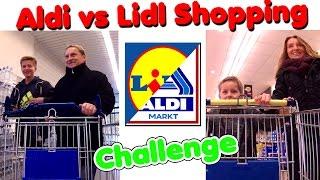 ALDI vs LIDL Shopping Challenge TipTapTube