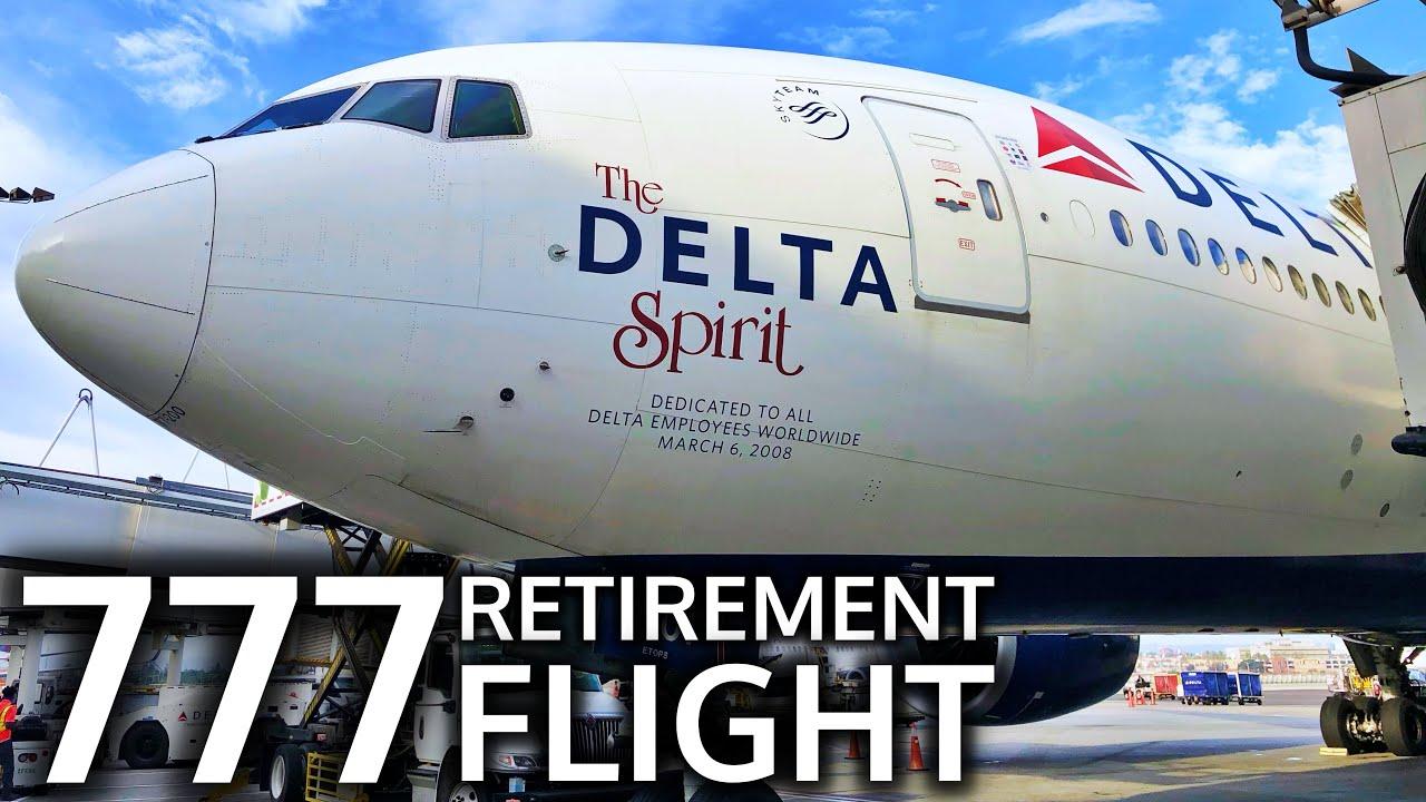 Final Flight: Delta Air Lines B777-200LR New York City to Los Angeles (JFK-LAX) - YouTube