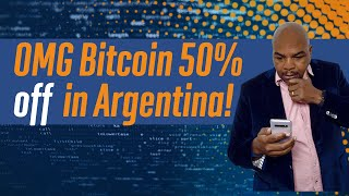 OMG Bitcoin is 50% off in Argentina!!! (Here's how to buy)