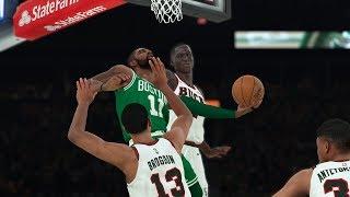 NBA 2K18 Kyrie Irving Good Handles! Highlights vs Bucks 2017.10.26