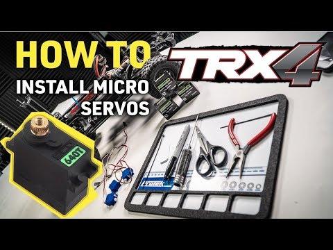 EcoPower 640T 13g Waterproof Metal Gear Digital Sub Micro Servo (TRX-4)