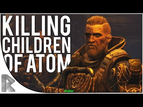 KILLING ALL THE CHILDREN OF ATOM! - Fallout 4 Far Harbor DLC Playthrough Part 3 (New DLC)