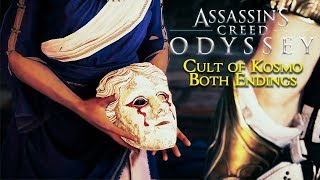 ASSASSIN'S CREED ODYSSEY Cult of Kosmos ENDING (Both Choices) 1080p HD