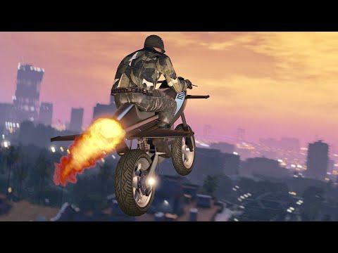 OVAJ MOTOR MOZE DA LETI !!! Grand Theft Auto V - Gunrunning DLC
