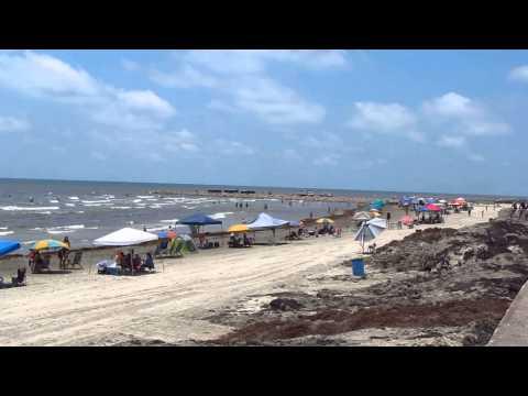 Galveston Seawall & Beach