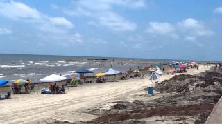Galveston Seawall & Beach
