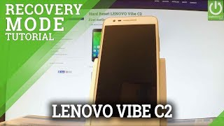 Recovery Mode in LENOVO Vibe C2 - Enter / Quit LENOVO Recovery