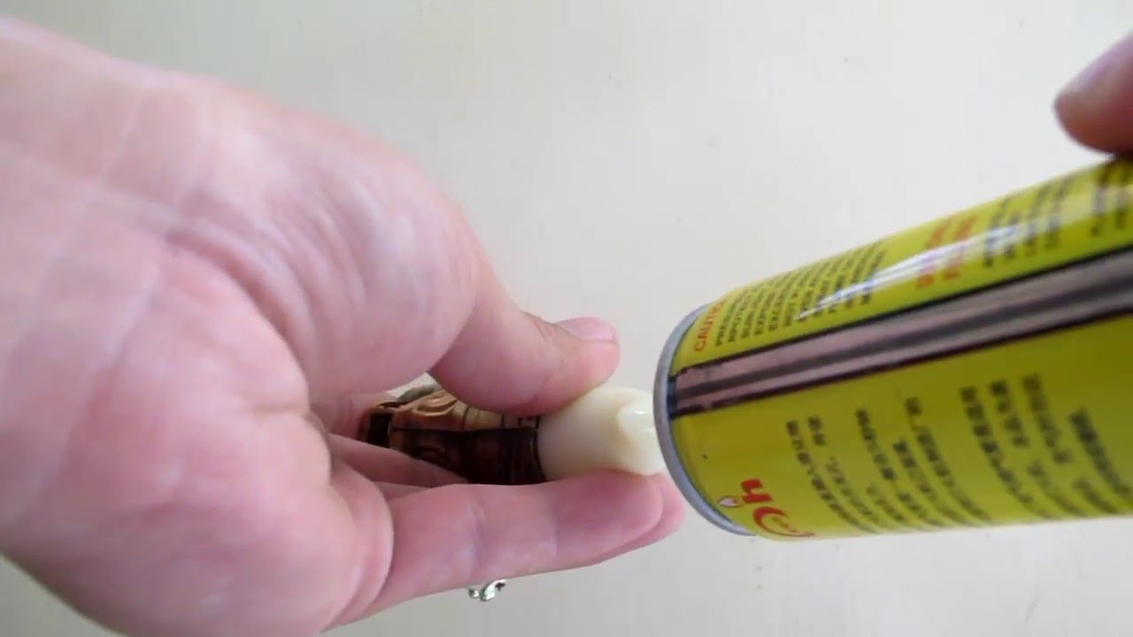 How to refill Wolf torch lighter with butane gas - YouTube for Torch Lighter Refill  177nar