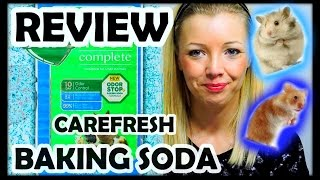 CAREFRESH BAKING SODA REVIEW | Hamster Bedding Thumbnail