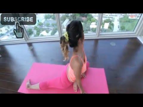 Sophia Leone Yoga Workout