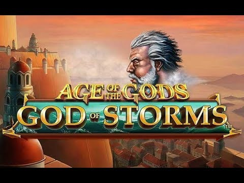 Age Of The Gods God Of Storms Online Slot From Playtech - Wild Win Respin Feature!