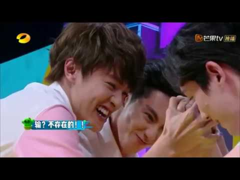 [ENGSUB in Progress] 20180714 Happy Camp - Xiong Dylan, BaiYu, Zhu YiLong (Arm Wrestling part) cut 1