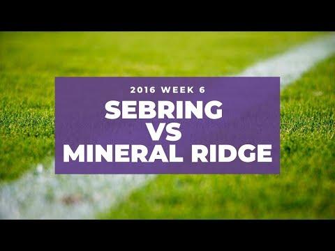 Sebring McKinley vs Mineral Ridge High School Football 2016 | Week 6