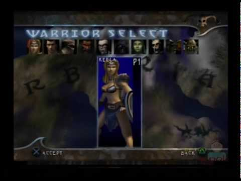 Barbarian Ps2 Gameplay ( Titus / Avalon Interactive ) Quest Mode - Playsation 2