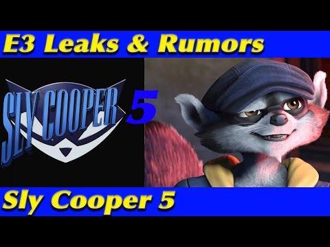 E3 2017 LEAKED NEWS & INFO | Sly Cooper 5 | Sony E3 2017 Teases streaming vf