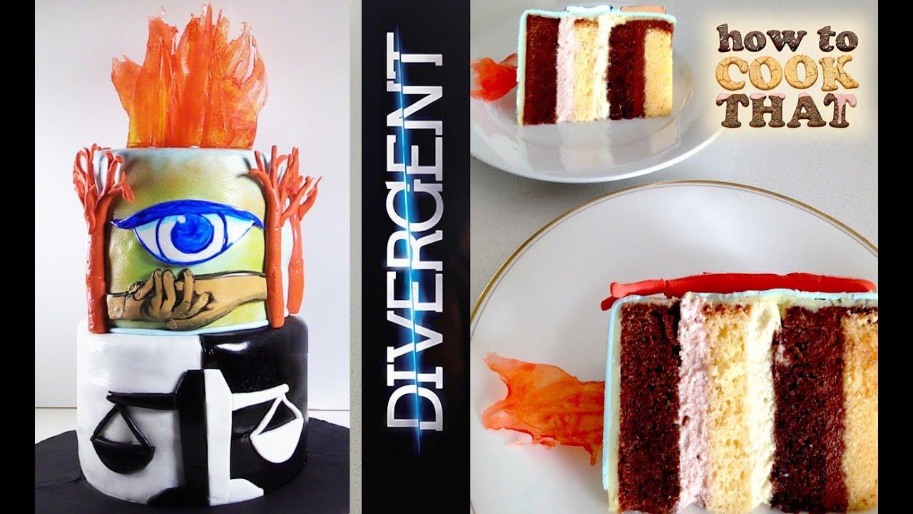 Divergent Cake How To Cook That Ann Reardon Allegiant Insurgent