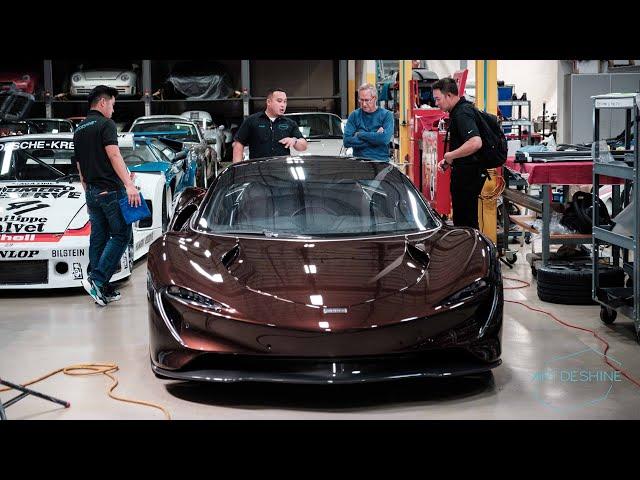 Artdeshine Project Speedtail with Canepa Motorsports