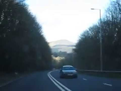 MVI7684 South Wales, Journey from Aneurin Bevan Hospital to Nevill Hall Hospital