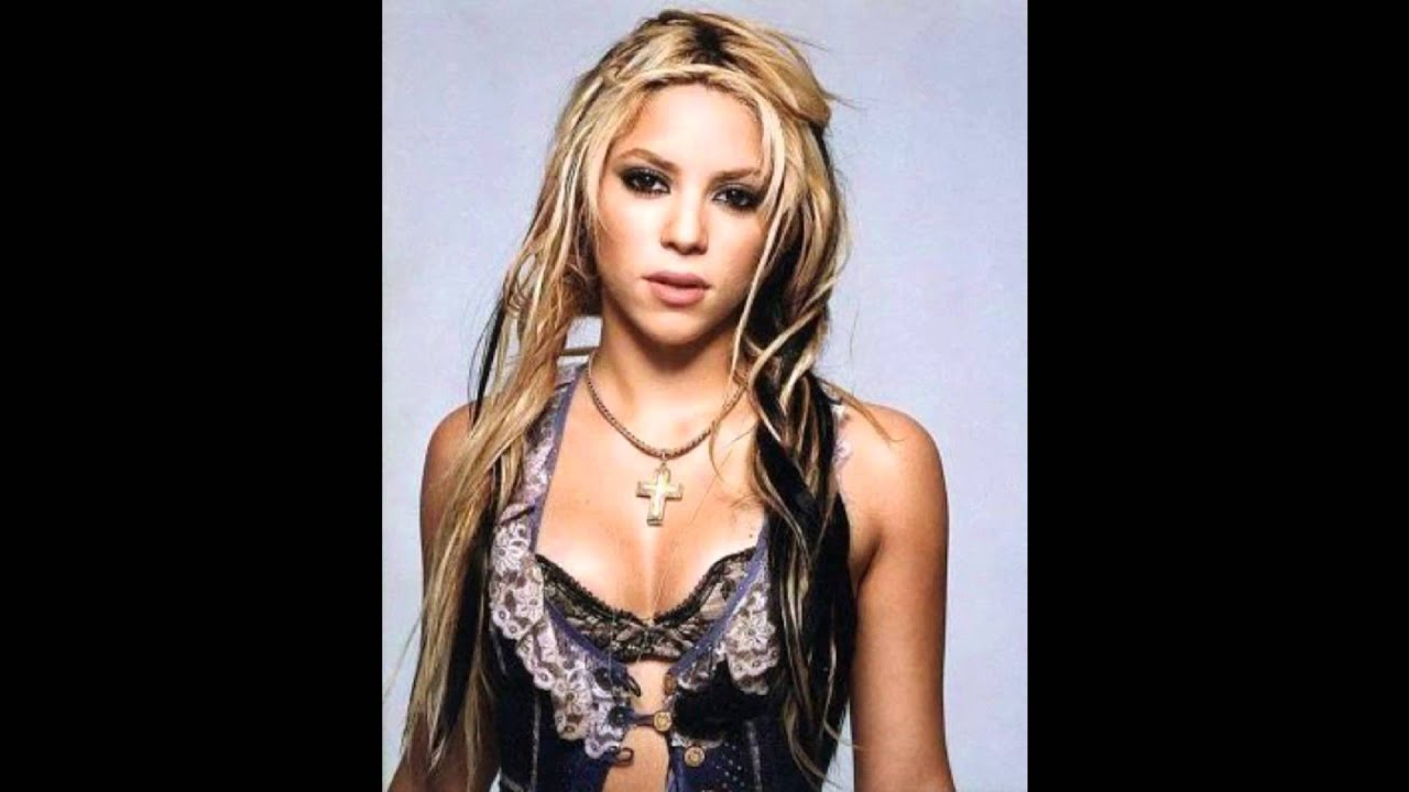 Shakira Through The Years 02 Wmv Youtube