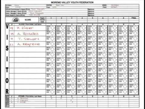 MVYF Scorekeepers Clinic