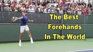 Forehand Lesson: The Best Forehands In The World