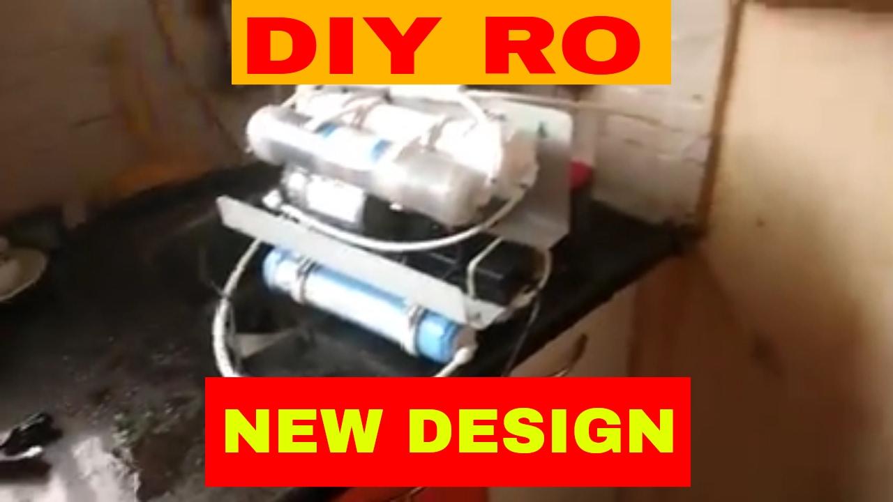 Diy Ro Reverse Osmosis New Design