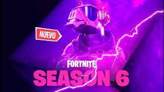 **SEASON 6** OFFICIAL TEASER! DJ SKIN at FORTNITE: Battle Royale ??