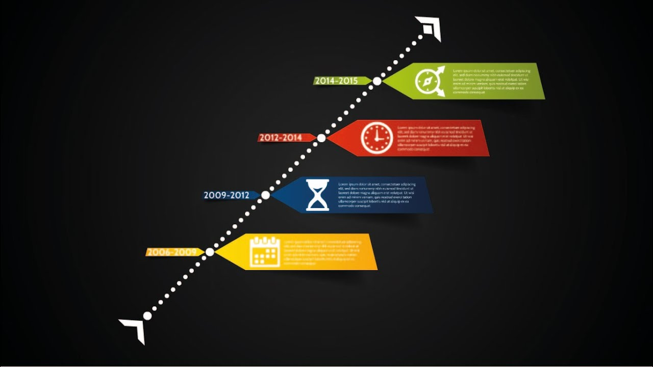 Prezi Presentation Colorful Timeline Template Youtube