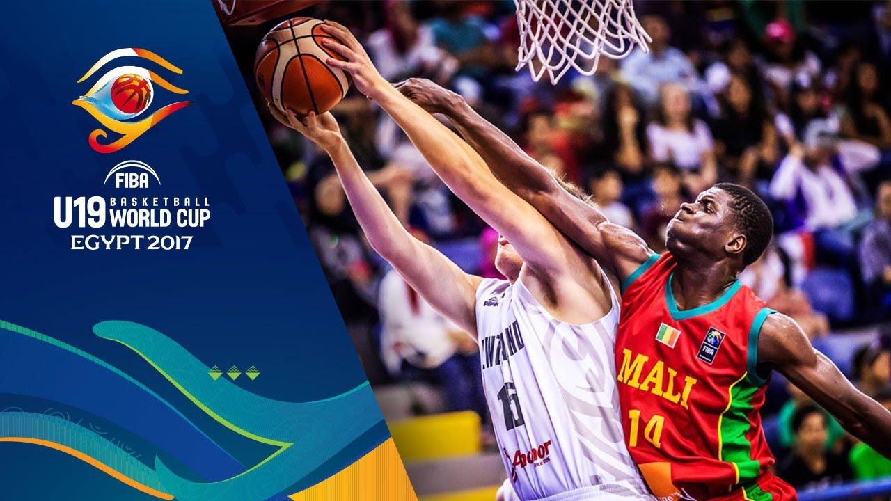 New Zealand v Mali - Full Game - CL 9-16 - FIBA U19 Basketball World Cup 2017