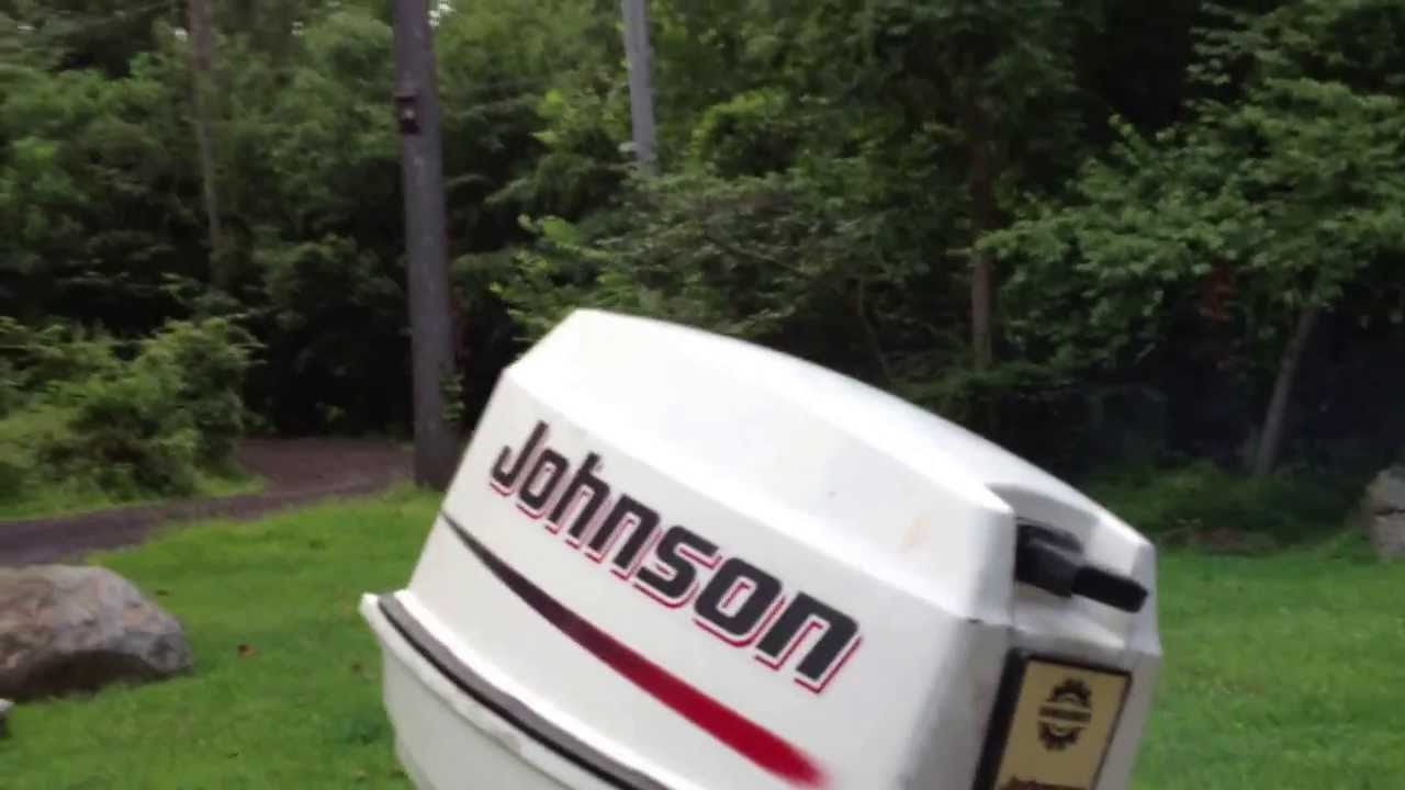 2002 Johnson 25 HP outbaord