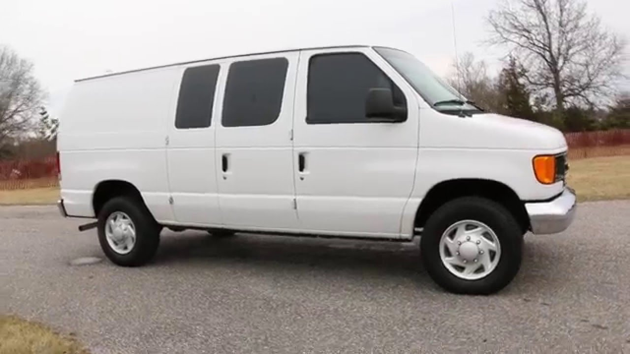 2006 Ford E250 Econoline Cargo Van For Sale