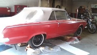 1965 Plymouth Valiant Convertable Restoration